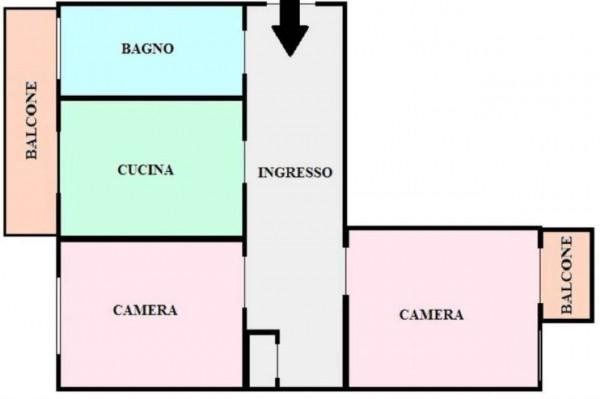 Appartamento in vendita a Torino, Borgo Vittoria, 75 mq - Foto 4
