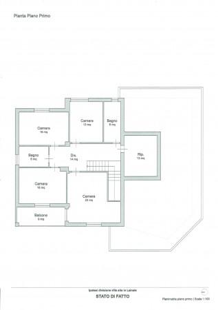 Villa in vendita a Lainate, Con giardino, 550 mq - Foto 4