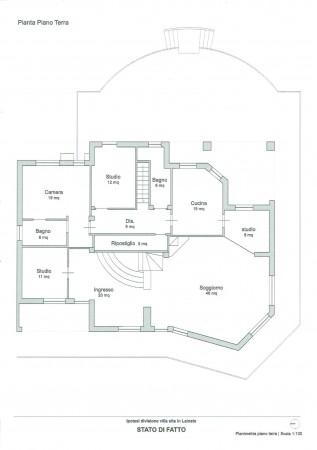 Villa in vendita a Lainate, Con giardino, 550 mq - Foto 2