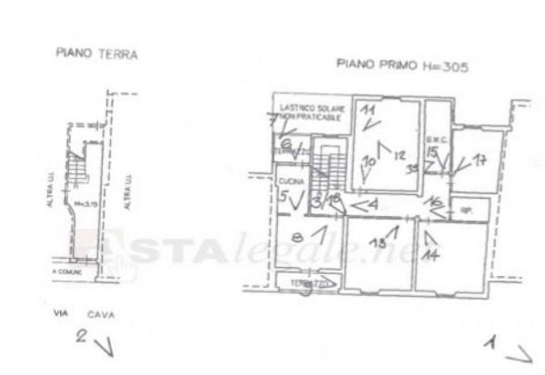 Casa indipendente in vendita a Prato, Con giardino, 196 mq - Foto 2
