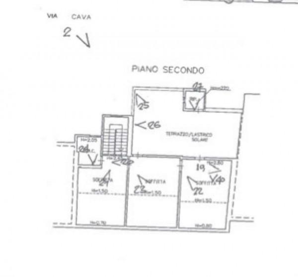 Casa indipendente in vendita a Prato, Con giardino, 196 mq - Foto 3