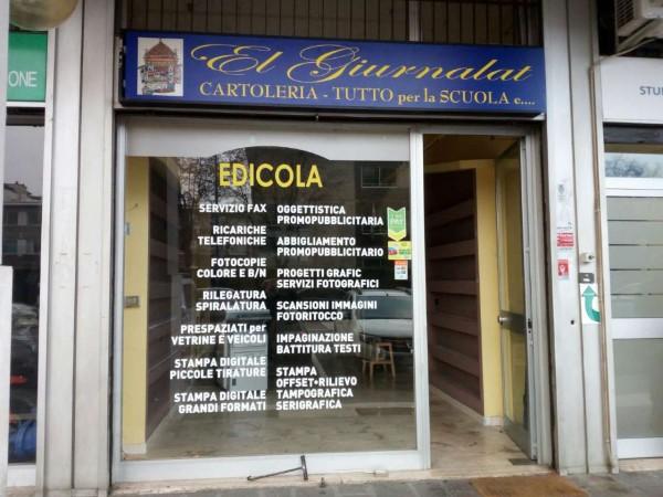 Negozio in vendita a Milano, 80 mq