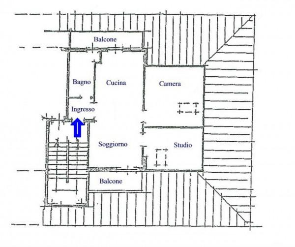 Appartamento in vendita a Alpignano, Semi Centrale, 60 mq - Foto 2