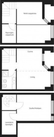 Appartamento in affitto a Milano, Campania, Arredato, 50 mq - Foto 2