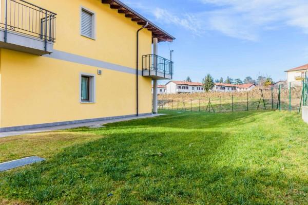 Appartamento in vendita a Daverio, Con giardino, 115 mq - Foto 14