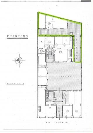 Appartamento in vendita a Milano, Con giardino, 250 mq - Foto 4
