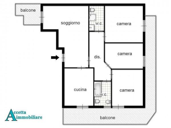 Appartamento in vendita a Taranto, Residenziale, 117 mq - Foto 2