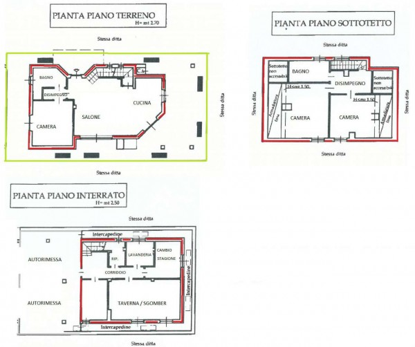 Villa in vendita a Val della Torre, Centro, Con giardino, 170 mq - Foto 3