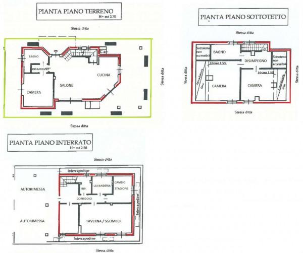 Villa in vendita a Val della Torre, Centro, Con giardino, 170 mq - Foto 2