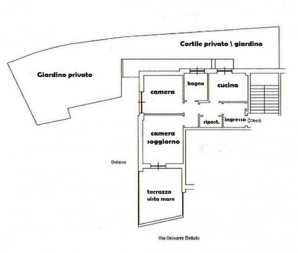 Appartamento in vendita a Genova, Quartiere Azzurro, Con giardino, 75 mq - Foto 4