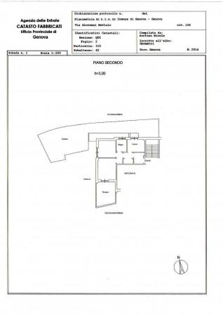 Appartamento in vendita a Genova, Quartiere Azzurro, Con giardino, 75 mq - Foto 3