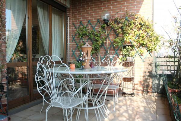 Appartamento in vendita a Lesmo, Con giardino, 122 mq