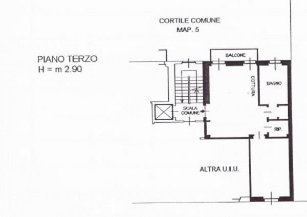 Appartamento in vendita a Milano, Con giardino, 60 mq - Foto 2