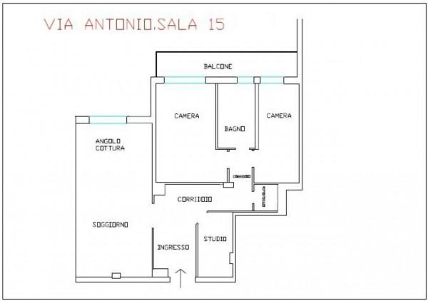 Appartamento in vendita a Roma, Aurelio, 91 mq - Foto 3