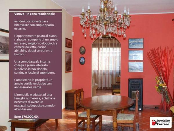 Appartamento in vendita a Vinovo, Tetti Rosa, Con giardino, 140 mq - Foto 2