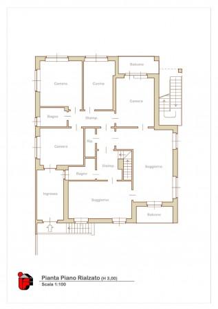 Appartamento in vendita a Vinovo, Tetti Rosa, Con giardino, 140 mq - Foto 5