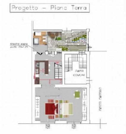 Appartamento in vendita a Milano, Con giardino, 100 mq - Foto 3