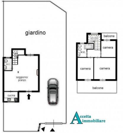 Villa in vendita a Taranto, Residenziale, Con giardino, 82 mq - Foto 2