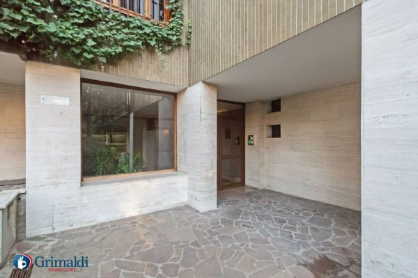 Appartamento in vendita a Milano, Arredato, con giardino, 150 mq - Foto 38