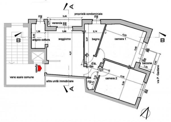 Appartamento in vendita a Torino, Via Gaidano - Centro Europa, 79 mq - Foto 2