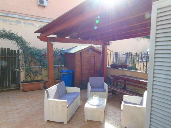 Villetta a schiera in vendita a Roma, Statuario, Con giardino, 120 mq - Foto 22