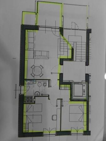 Appartamento in affitto a Magenta, Residenziale, Con giardino, 150 mq - Foto 2
