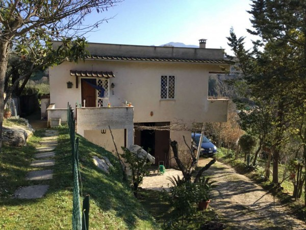 Villa in vendita a Monterotondo, Cretone Terme, Arredato, con giardino, 200 mq