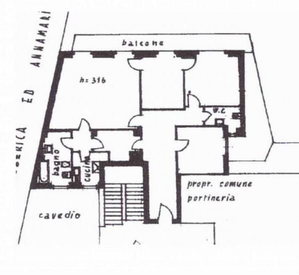 Appartamento in vendita a Monza, Centro, 140 mq - Foto 2