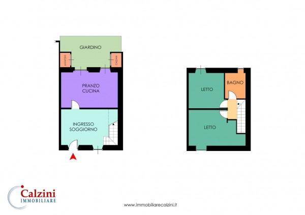 Casa indipendente in vendita a Roma, Quadraro, Con giardino, 100 mq - Foto 3