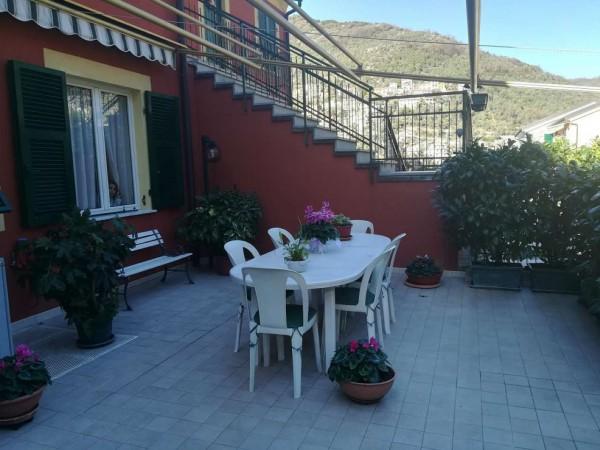 Appartamento in vendita a Avegno, A 3 Km Da Recco, 80 mq