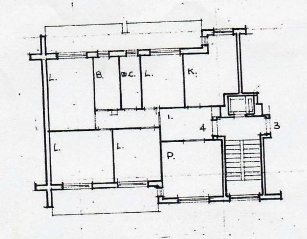 Appartamento in vendita a Roma, Don Bosco/v.le Romanisti, 120 mq - Foto 16