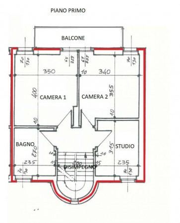 Villa in vendita a Val della Torre, Con giardino, 102 mq - Foto 5