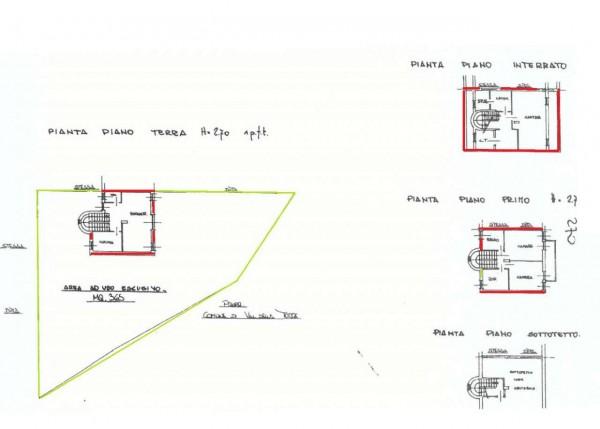 Villa in vendita a Val della Torre, Con giardino, 102 mq - Foto 7