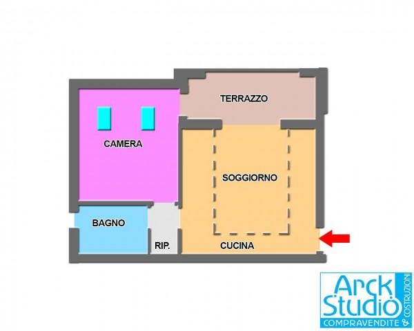 Appartamento in vendita a Pozzo d'Adda, Arredato, 64 mq - Foto 14