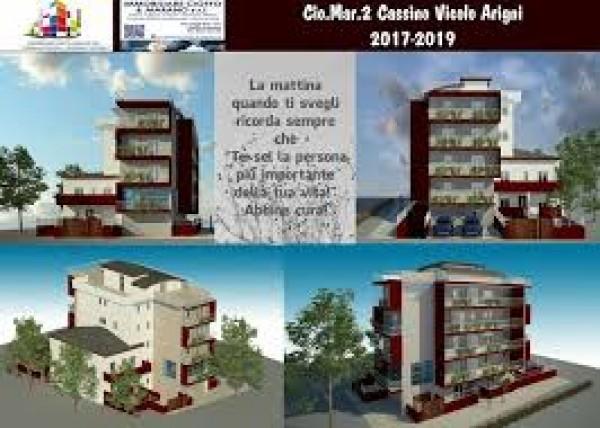 Appartamento in vendita a Cassino, Centralissima, Con giardino, 55 mq