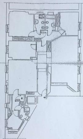 Appartamento in affitto a Milano, Brera/centro, 190 mq - Foto 2