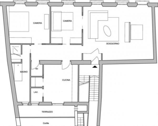 Appartamento in vendita a Milano, Sant'ambrogio, Cattolica, Arredato, 140 mq - Foto 6