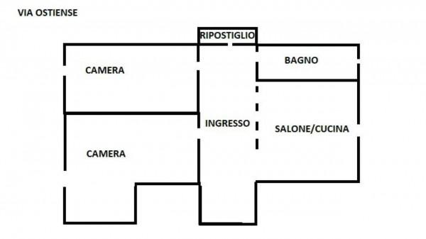 Appartamento in affitto a Roma, Garbatella, Arredato, 65 mq - Foto 2