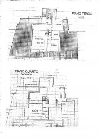 Appartamento in vendita a Milano, Affori Centro, Con giardino, 170 mq - Foto 2
