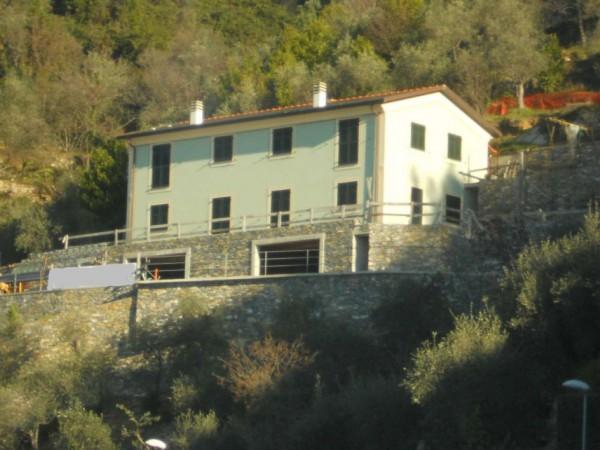 Villa in vendita a Zoagli, S.pietro Di Rovereto, Con giardino, 430 mq - Foto 3