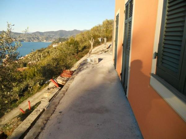 Villa in vendita a Zoagli, Sant'andrea Di Rovereto, Con giardino, 130 mq - Foto 8