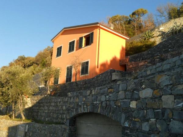 Villa in vendita a Zoagli, Sant'andrea Di Rovereto, Con giardino, 130 mq - Foto 13