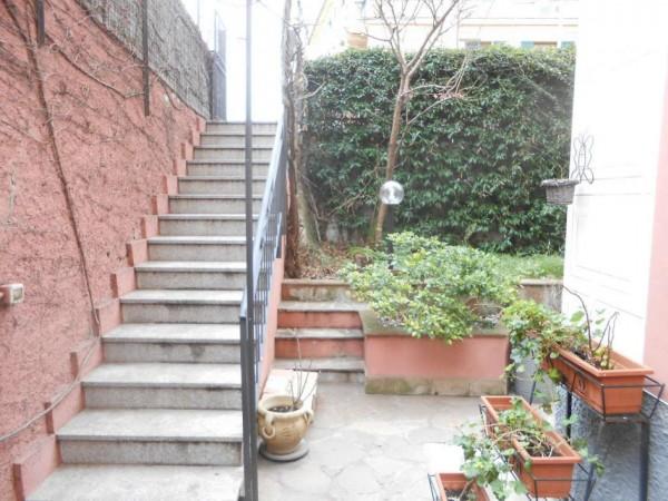 Appartamento in vendita a Genova, Adiacenze Via Nizza, Arredato, con giardino, 70 mq - Foto 12