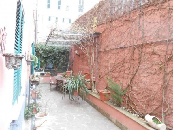 Appartamento in vendita a Genova, Adiacenze Via Nizza, Arredato, con giardino, 70 mq - Foto 15
