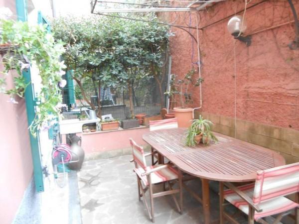 Appartamento in vendita a Genova, Adiacenze Via Nizza, Arredato, con giardino, 70 mq - Foto 40