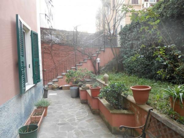 Appartamento in vendita a Genova, Adiacenze Via Nizza, Arredato, con giardino, 70 mq - Foto 17