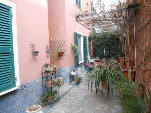 Appartamento in vendita a Genova, Adiacenze Via Nizza, Arredato, con giardino, 70 mq - Foto 16