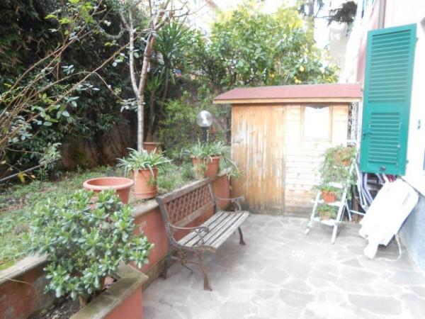 Appartamento in vendita a Genova, Adiacenze Via Nizza, Arredato, con giardino, 70 mq - Foto 11