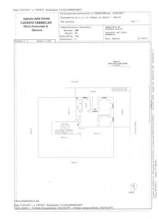Appartamento in vendita a Genova, Adiacenze Via Nizza, Arredato, con giardino, 70 mq - Foto 2