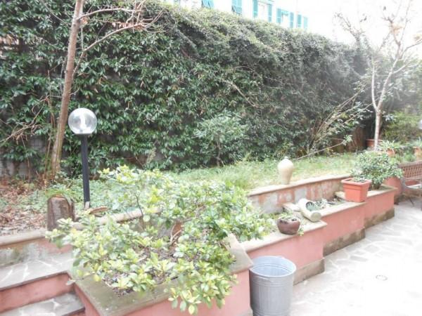 Appartamento in vendita a Genova, Adiacenze Via Nizza, Arredato, con giardino, 70 mq - Foto 10
